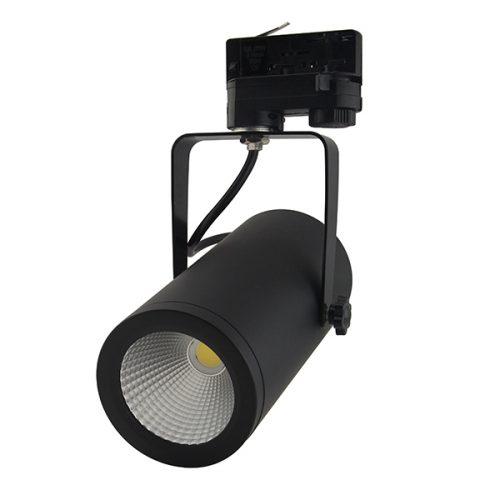 Foto van LED Tracklight in de kleur zwart