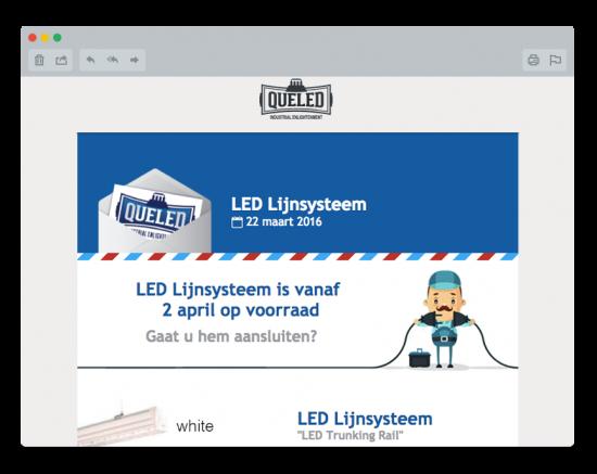 LED Lijnverlichting Nieuwsbrief