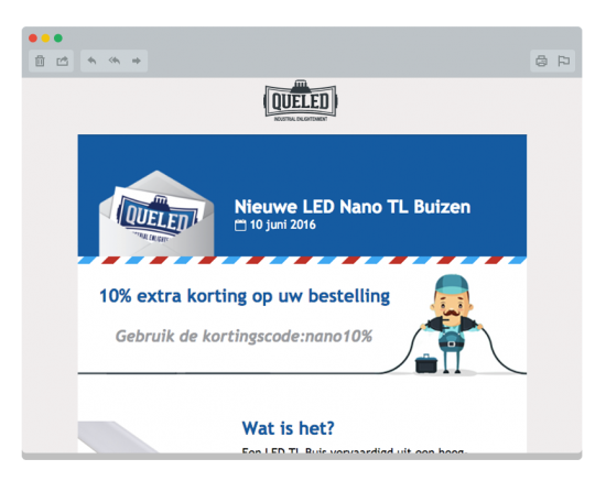 LED Nano tl-buis LED Verlichting Nieuwsbrief
