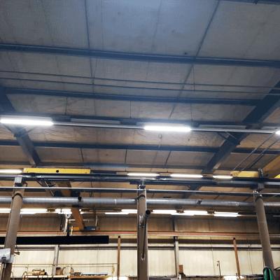 Project HR Groep Emmen met Lichtlijn Systeem QueLED