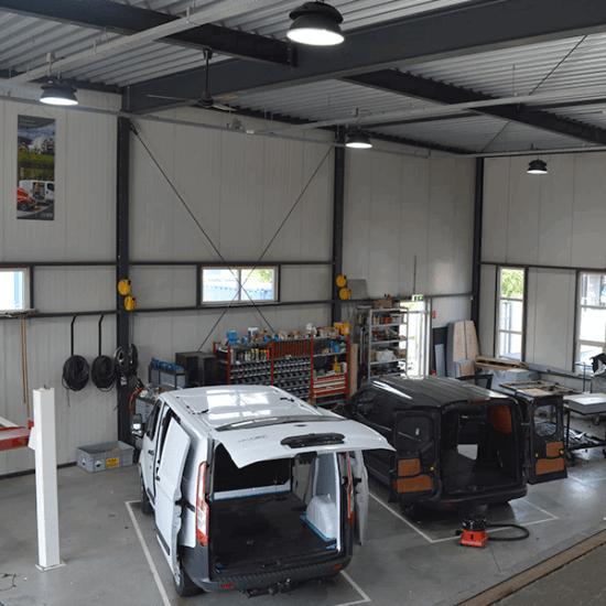AenS Vancare Werkplaats verlichting 4