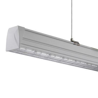 Led lichtlijn systeem zilver van QueLED