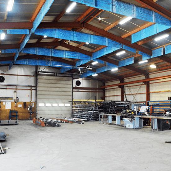 Mareko - Productiehal en werkplaats verlichting 2