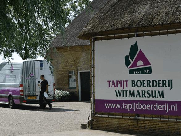 Tapijt boerderij Witmarsum 1