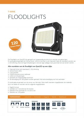 Specificaties Floodlight