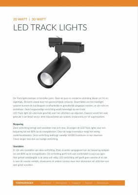 QueLED Datasheet Tracklights